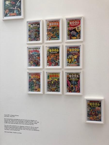 Alle 2001-Comics auf einem Blick.