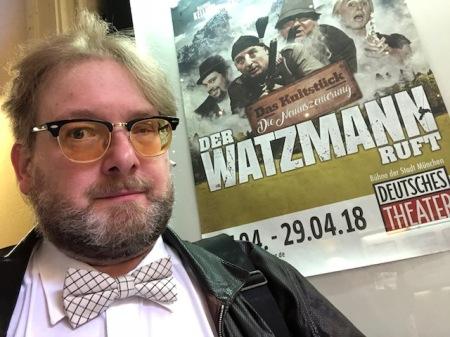 Gespannt auf die Neuinszenierung von Der Watzmann ruft im Deutschen Theater München.