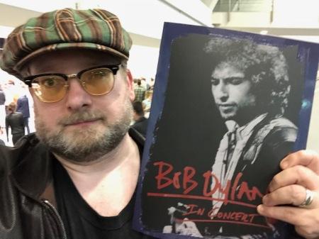 Der jährliche Bob Dylan  für mich - dieses Mal in der Nürnberger Frankenhalle.