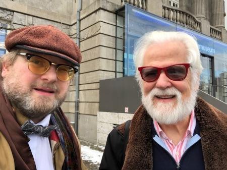 Für mich war es eine große Ehre mit Jan Harlan wieder einmal zu sprechen.