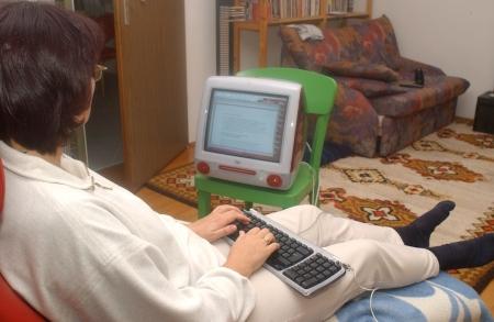 Der All-one-One-Computer war eine Revolution. Meine Frau arbeitete gerne mit ihrem iMac während ihrer Schwangerschaft.