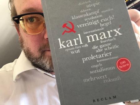 Gut geschrieben auf 100 Seiten. Karl Marx bei Reclam.