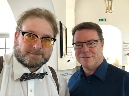 Mal wieder auf einem Seminar getroffen: Oliver Groß