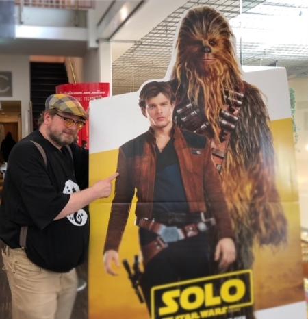 Solo ist nicht schlecht, aber ein zweites Mal im Kino muss ich ihn nicht sehen.