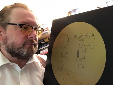Musik für Aliens auf den goldenen Schallplatten von Voyager 1 und 2.