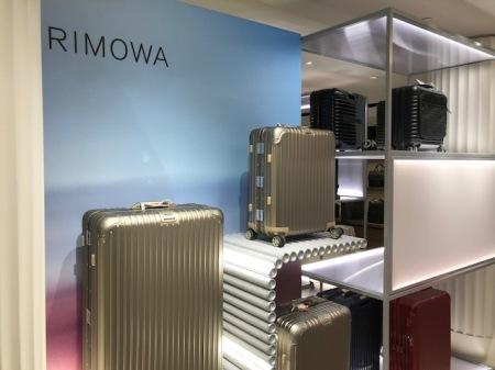 Rimowa ist für mich die erste Wahl bei Koffer.
