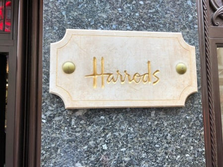 Luxus pur bei Harrods