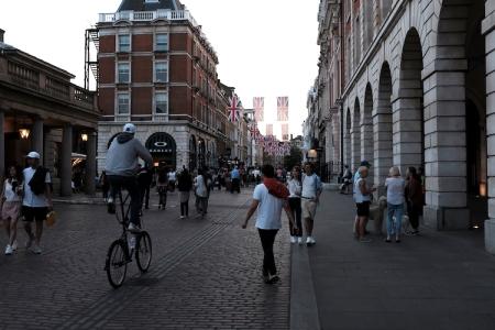 London ist eine Wahnsinnsstadt zum Shoppen. Hier die Kings Road.