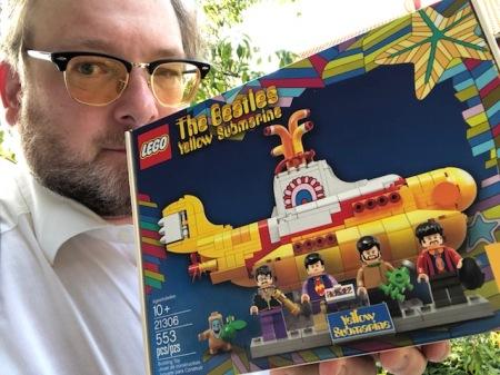 Mein Yellow Submarine von Lego aus den USA