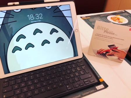 Ich schneide in der Regel am iPad, weil ich einfach mehr sehe.