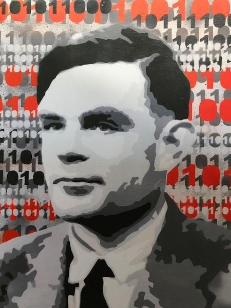 Alan Turing in München.