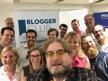 Der Bloggerclub ist die Vertretung der Blogger.