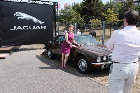 Die Jaguar Klassiker waren DIE Fotomotive.