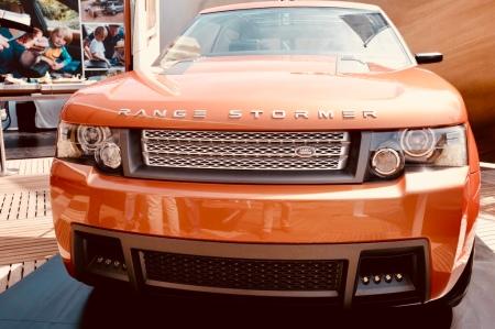 Der Range Stormer am Nürburgring - eindrucksvolles Concept Cars.