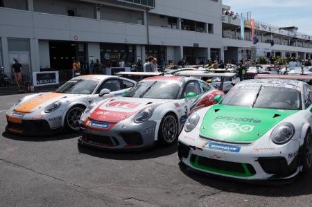 Zahlreiche Porsche-Modelle nahmen am 46. Oldtimer Grand Prix teil.