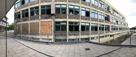 Eine alte Schule als Lost Place