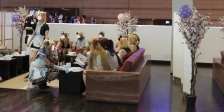Tolle Idee: Ein Maid Cafe auf der Animagic.