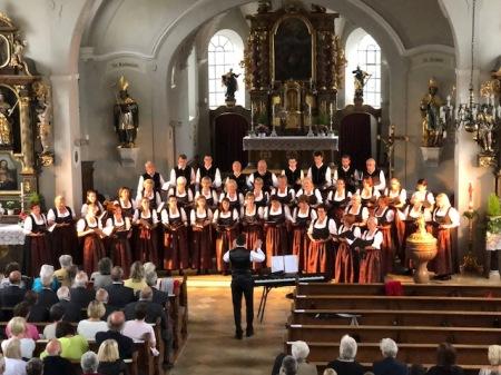 Gemischte Chor des Gesangverein Maisach