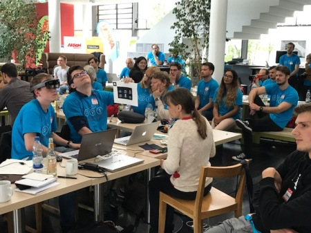 """Inklusion braucht Innovation: """"Neue Nähe""""-Hackathon von Aktion Mensch und Microsoft - eingeladen hatte dazu Faktor3 auch Blogger."""