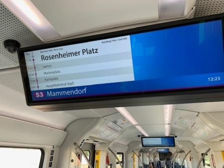 Ich bin in Olching und nicht am Rosenheimer Platz.