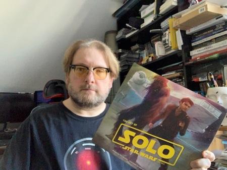 Tolles Art of Buch zu einem schlechten Star Wars Film: Solo