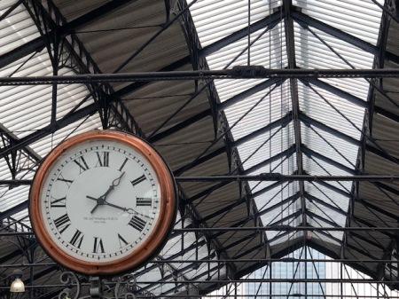 Bahnhofstraße in London.