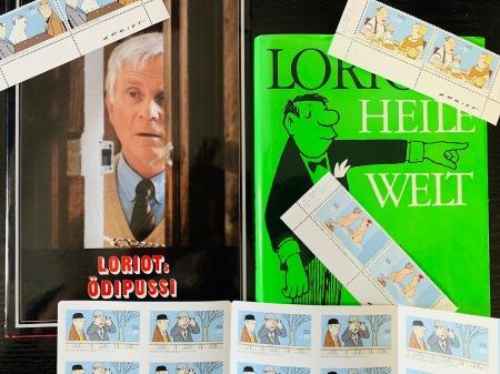 Ein paar Erinnerungen an Loriot aus meiner Sammlung.