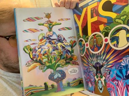 YES - die Beatles in Buchform - hier mit Yellow Submarine.