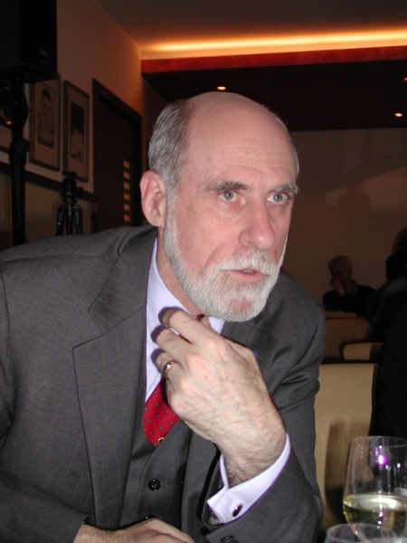 Gespräch mit dem Vater des Internets: Vint Cerf.