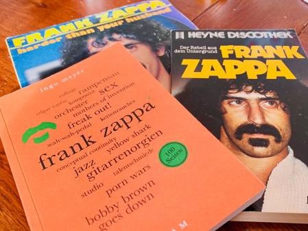 Erinnerungen an Frank Zappa - auch durch ein neues Buvon von Reclam.