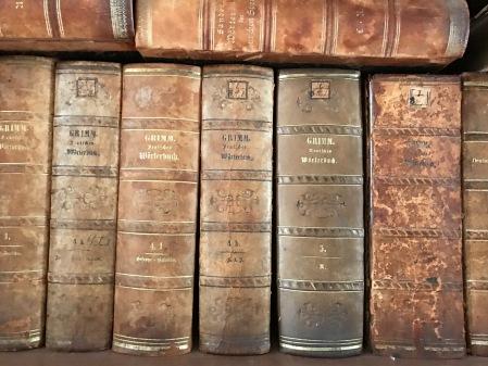 Die Gebrüder Grimm - hier als gedrucktes Buch.