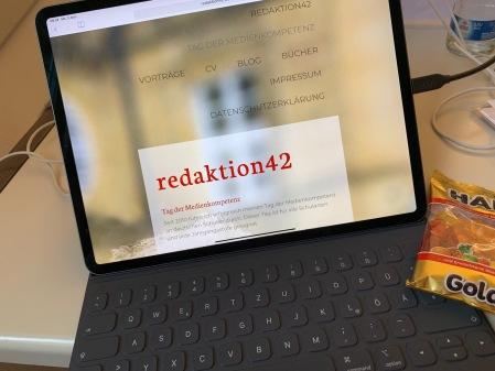 Das neue iPad Pro im Einsatz.