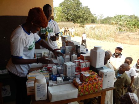 Aktive Entwicklungshilfe für Menschen in Togo. Foto: Aktion PiT