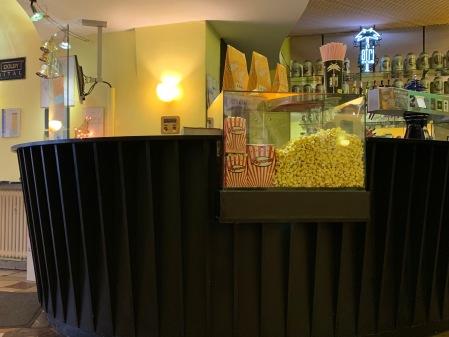 Popcorn und Kino gehören für mich zusammen.