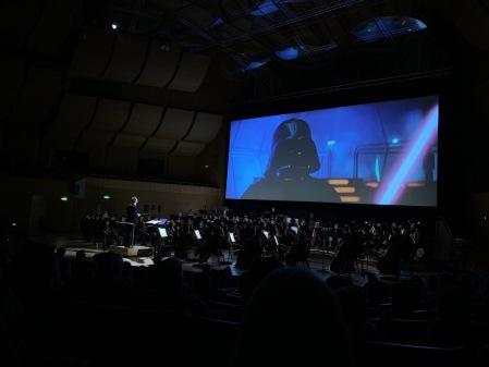 Das Imperium schlägt zurück mit Live Musik im Gasteig - was will der Fan mehr?