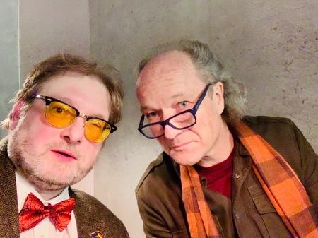 Sehr gutes Gespräch: Matthias J. Lange mit Regisseur Christian Frei.