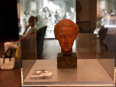 Brigitte Helm - die Maria - hier in der UFA-Ausstellung.