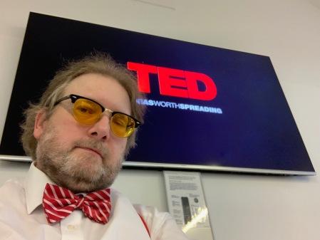 TED ist immer eine Inspiration für Präsentationen.