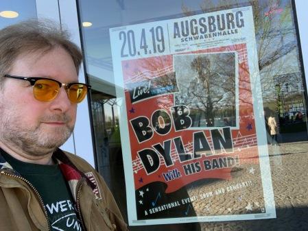 Bob Dylan in Augsburg - einfach großartig.