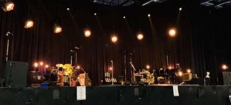 Das Bühnenset in Augsburg.