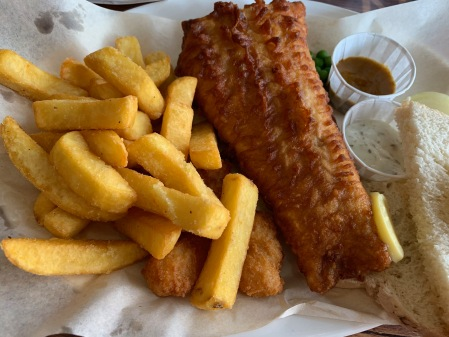 Immer auf der To-do-Liste:Fish and Chips