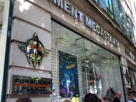 Forbidden Planet Megastore in London
