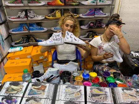 Unsere fertigen Schuhe