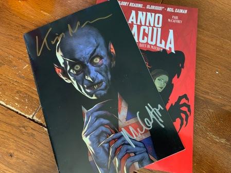 Dracula mit Autogramm