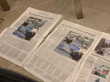 Warum steht in unterschiedlichen Zeitungen der gleiche Inhalt?