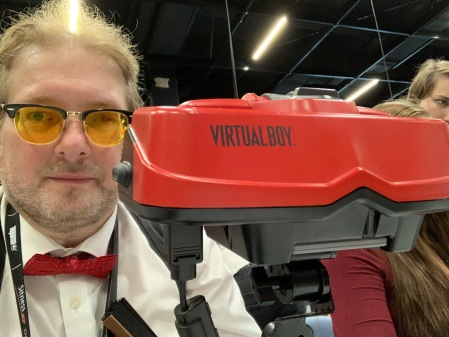 Mein Highlight auf der Gamescom 2019: Der Virtual Boy