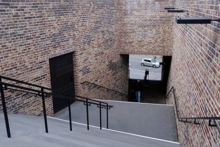 Der Eingang zum Museum.