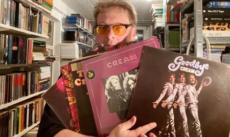 Ginger Baker und Cream auf Vinyl