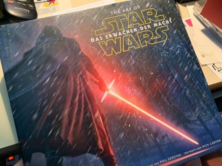 Star Wars VII als die Welt noch in Ordnung war.
