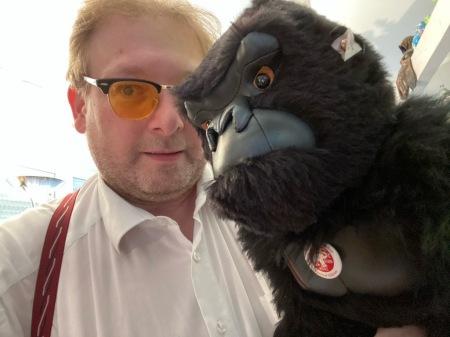 King Kong von Steiff ist eingetroffen.